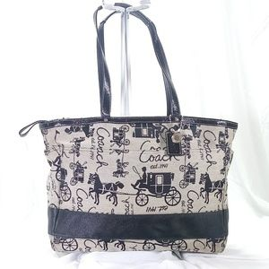 Coach Large Travel Tote Bag